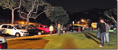 DUI Checkpoint 3-4-11 Holding Area  people waiting for taxi after cars towed_a